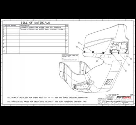 Fibreworks Composite Seats